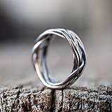 Prstene - Prepletené prúty - 11421407_