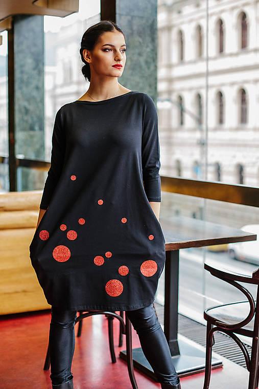 FNDLK úpletové šaty 453 BVqL_glitter