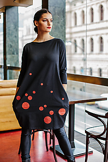 Šaty - FNDLK úpletové šaty 453 BVqL_glitter - 11420369_