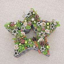 Dekorácie - Vianočná hviezda - 11420162_