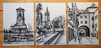 Obrazy - Kresba - moje milované mesto - na želanie - 11420567_
