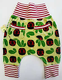 Detské oblečenie - Pudlové gate lienky velúr - 11420448_