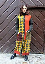 Kabáty - VITKA-pletený kabát-vícebarevný - 11420723_