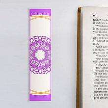 Papiernictvo - Vianočné záložky do knižky - vločky (elegantná) - 11420866_