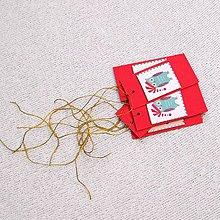 Papiernictvo - Recy menovky na vianočné darčeky - 11421170_