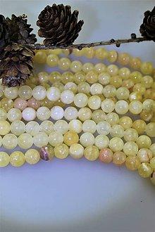 Minerály - kalcit multicolor korálky 8mm - 11423393_