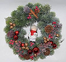 Dekorácie - Venček vianočný - 11422838_