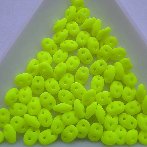 Matubo SuperDuo-5g (neon mat žltá)