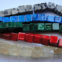 Minerály - Minerály-kocky-1ks - 11424575_