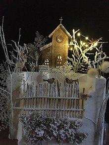Dekorácie - Vianočná dekorácia - Polnočná - 11424175_