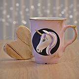 Nádoby - Hrnček Jednorožec - darčekový hrnček s textom na čaj, kávu - 11424203_