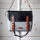 Veľké tašky - Veľká taška Shoulder&crossbody messenger - 11424066_