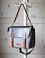 Veľké tašky - Veľká taška Shoulder&crossbody messenger - 11424067_