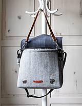 Veľké tašky - Veľká taška Shoulder&crossbody messenger - 11424072_
