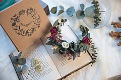 """Ozdoby do vlasov - Kvetinový polvenček """"tvoje objatia"""" - 11424452_"""