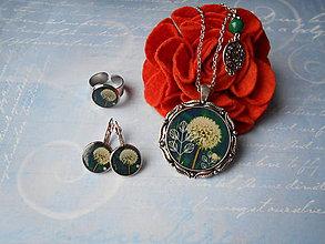 Sady šperkov - Púpavka v zelenej IV. - 11425229_