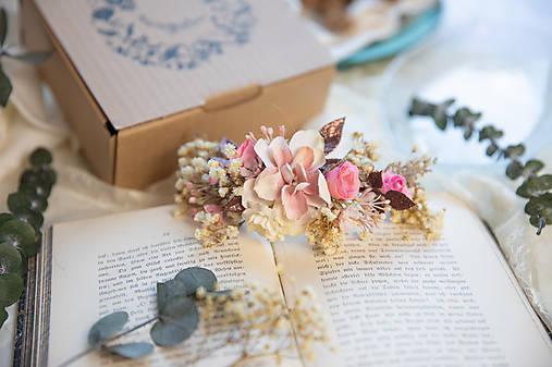 """Kvetinový štvrťvenček """"nádej a sny"""""""