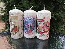 Svietidlá a sviečky - veľké sviečky 3 - 11425149_