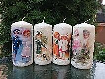 Svietidlá a sviečky - veľké sviečky 4 - 11425161_