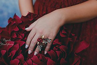 """Prstene - Kvetinový prstienok """"o tajomstvách"""" - 11426345_"""