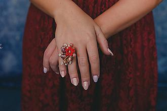 """Prstene - Kvetinový prstienok """"zatancuj si so mnou"""" - výpredaj z 10€ - 11426382_"""
