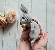 Hračky - Ňu-ňu zajko s mrkvou - 11426666_