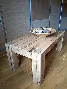 """Nábytok - Dubový stôl """" olej """" - 11426682_"""