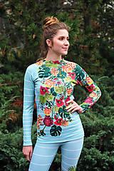 Iné oblečenie - FLOWERS IN THE WINDOW - termo oblečenie - 11427164_