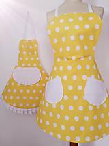 Iné oblečenie - Zástery mama a dcéra Sunshine  - 11428548_