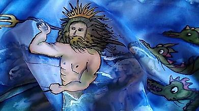 Šály - Poseidon s morským drakom - 11428503_
