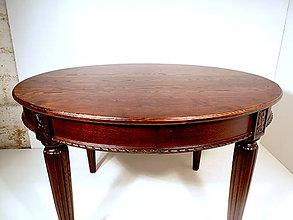 Nábytok - Drevený jedálenský stôl - 11428527_