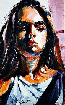 Obrazy - portrety - 11427895_