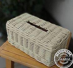Krabičky - Krabička na papierové obrúsky - 11428321_