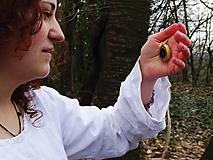 Náhrdelníky - Čarokruh so svastikou - 11430189_