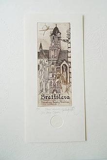 Grafika - Hlavné námestie (s obálkou) - 11430109_
