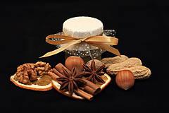 Darčeky pre svadobčanov - Zdobený (svadobný) medík 130 ml - 11428906_