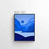 Grafika - Modré údolí - 11430020_