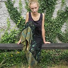 Sukne - Maxi sukňa volánová S-M - 11429770_