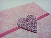 Papiernictvo - Pohľadnica ... valentínka 1 - 11431411_