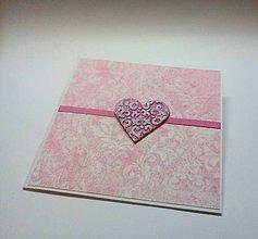 Papiernictvo - Pohľadnica ... valentínka 1 - 11431405_