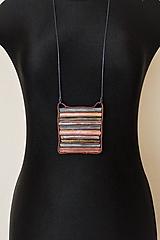 Náhrdelníky - náhrdelník boho-zipsový I - 11430744_