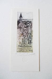 Grafika - Malé rozprávkové mesto (s obálkou) - 11431569_