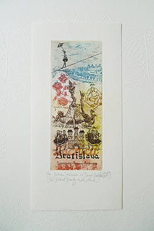 Grafika - Milovaná Krásavica na Dunaji (s obálkou) - 11431693_