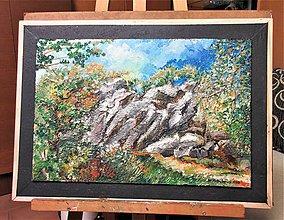 Obrazy - Pod Portášom- Na prechádzke lesom - 11431199_