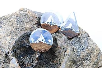Náramky - Vrcholy hôr- minimalistický náramok/prívesok/náhrdelník - 11431536_