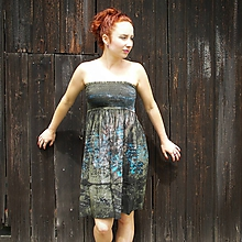 Šaty - Bavlněné šaty S - 11430756_