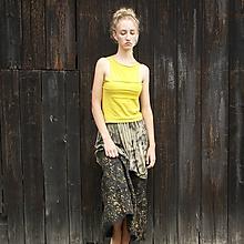 Sukne - Maxi sukňa s malbou S-XL - 11430798_