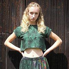 Tričká - Krátké tričko z organické bavlny - 11431109_