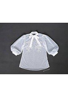 Iné oblečenie - VÝPREDAJ Bodkovaná blúzka (36 - 38) - 11431566_