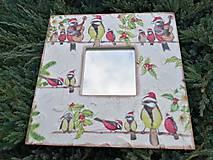 Zrkadlá - vtáčiky - 11430738_